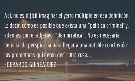Las trampas del adjetivo. Gerardo Guinea Diez.