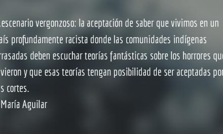 Creompaz IV y final. María Aguilar.