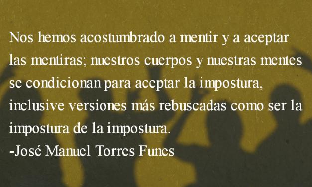 Un pacto sucio. José Manuel Torres Funes.