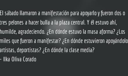 Guatemala siempre apática e hipócrita. Ilka Oliva Corado.