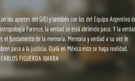 Ayotzinapa: la verdad oficial demolida. Carlos Figueroa Ibarra.