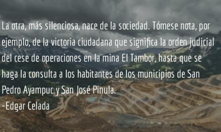 Reforma o refundación y las señales del cambio. Edgar Celada.
