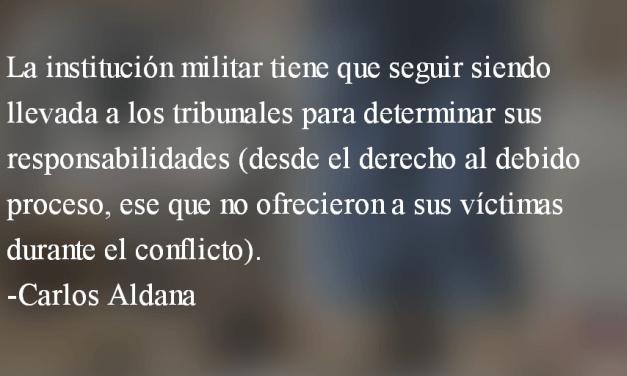 Genocidio, sepur, creompaz… Carlos Aldana
