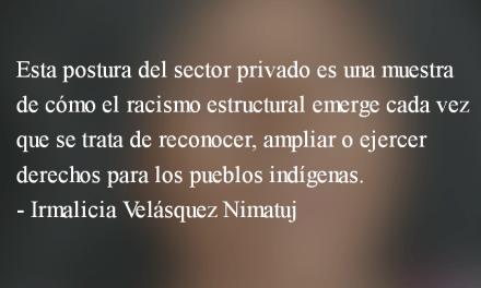 La justicia indígena y la elite nacional. Irmalicia Velásquez Nimatuj.