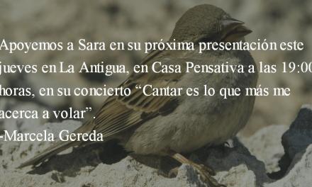Sara Curruchich. Marcela Gereda.
