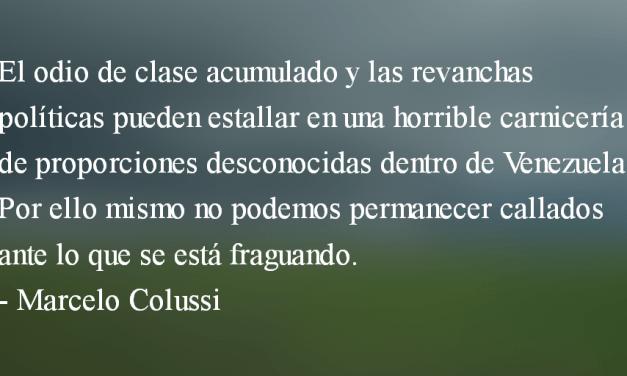 Defender a Venezuela es defender la dignidad. Marcelo Colussi.