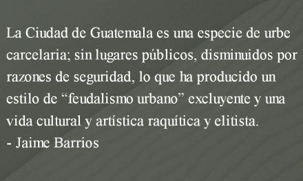 La capital del miedo. Jaime Barrios.