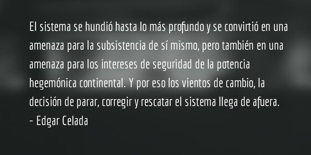 """Luzbel de piedralumbre…"" Edgar Celada"