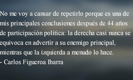 La derecha y el enemigo principal. Carlos Figueroa Ibarra.