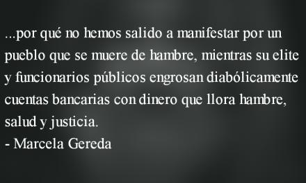 """¿Si el """"sistema"""" somos """"nosotros"""", a qué nos oponemos? Marcela Gereda"""