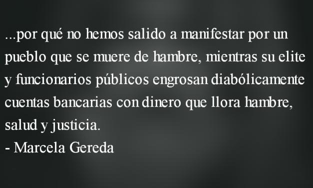 ¿Si el «sistema» somos «nosotros», a qué nos oponemos? Marcela Gereda