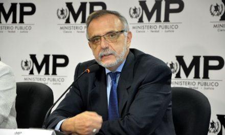 Caso Cooptación del Estado de Guatemala. Comunicado CICIG.