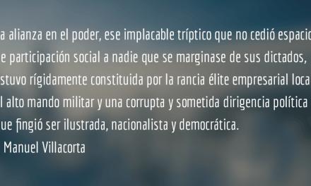 Derecha criolla: principio del final. Manuel Villacorta.