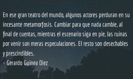 Transmutaciones. Gerardo Guinea Diez.