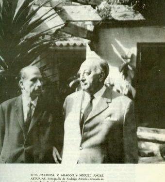 Juan Rejano sobre Luis Cardoza y Aragón