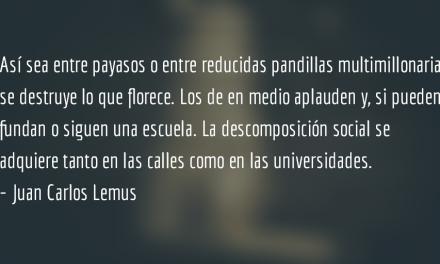 Payasita destruye a Darth Vader. Juan Carlos Lemus.