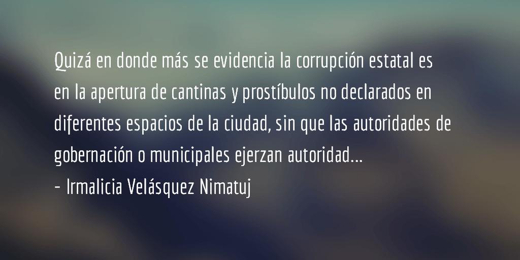 La destrucción de Quetzaltenango. Irmalicia Velásquez Nimatuj.