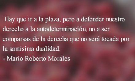 ¿Vamos a un gobierno incorrupto? Mario Roberto Morales
