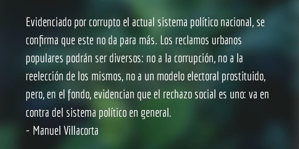 ¿Hacia la unidad urbano-campesina? Manuel Villacorta