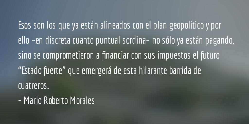 La restauración oligárquica. Mario Roberto Morales.