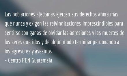 Reflexiones desde el Centro PEN Guatemala