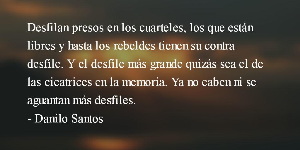 Desfiles… Danilo Santos