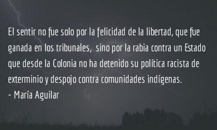 El sol de la justicia. María Aguilar.