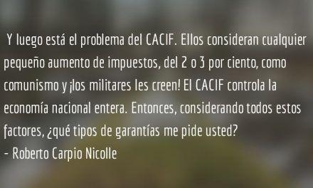 Estado cooptado (III y final). María Aguilar.