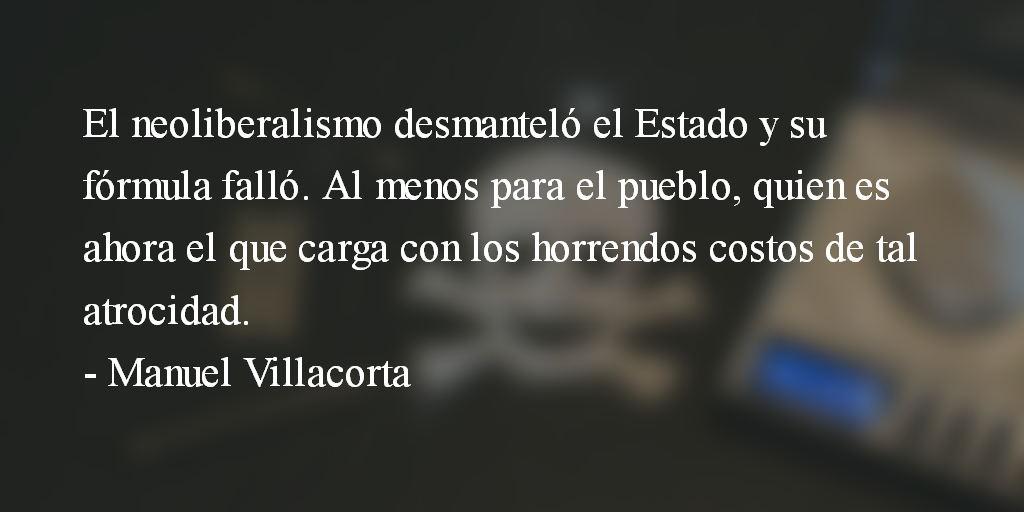 Guatemala, un engendro neoliberal. Manuel Villacorta.