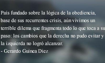 La fragmentariedad del presente. Gerardo Guinea Diez.