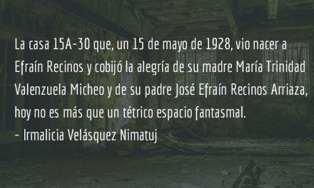 La destrucción de Quetzaltenango (Parte IV). Irmalicia Velásquez Nimatuj.