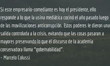 ¿Tiene la culpa Jimmy Morales? Marcelo Colussi