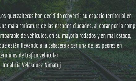 La destrucción de Quetzaltenango (VII parte). Irmalicia Velásquez Nimatuj.