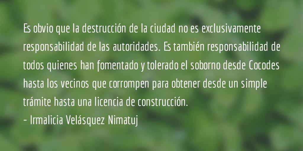 La destrucción de Quetzaltenango (VIII parte). Irmalicia Velásquez Nimatuj.