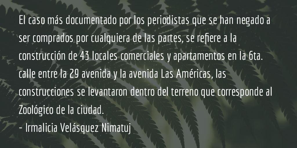 La destrucción de Quetzaltenango (VI parte). Irmalicia Velásquez Nimatuj.