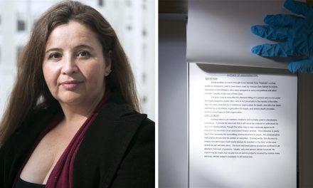 """Voluspa Jarpa: """"Corrupción, mentiras y secretos son las consecuencias de la Guerra Fría"""""""