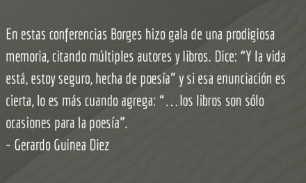 Borges en Harvard. Gerardo Guinea Diez.