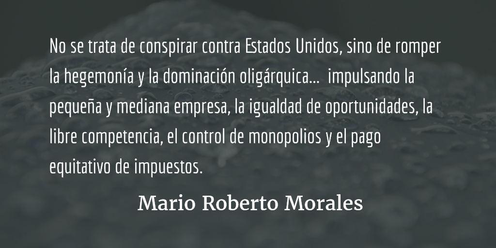 Cuestión de interlocutores. Mario Roberto Morales.