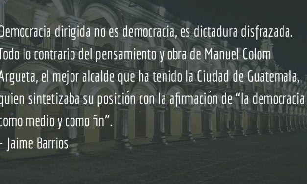 La trompa del criollo. Jaime Barrios.