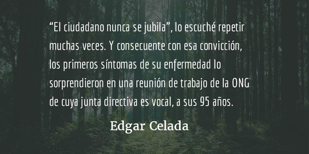 """""""Lo privado también cuenta"""". Edgar Celada."""