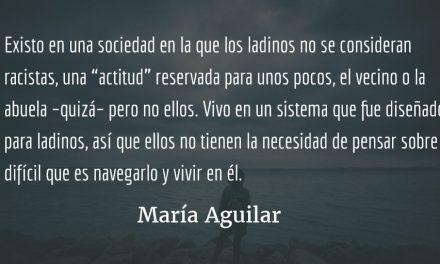El conflicto con mi país. María Aguilar.