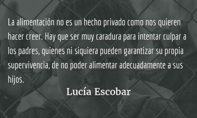 Hambre. Lucía Escobar.
