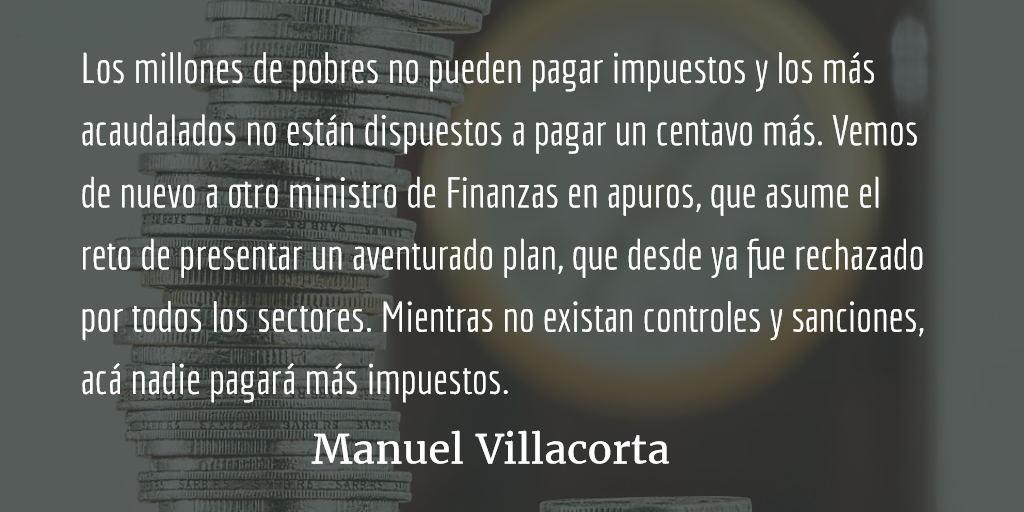 Crisis fiscal: Estado pobre e inepto. Manuel Villacorta.