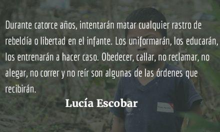 Pobres niños. Lucía Escobar.