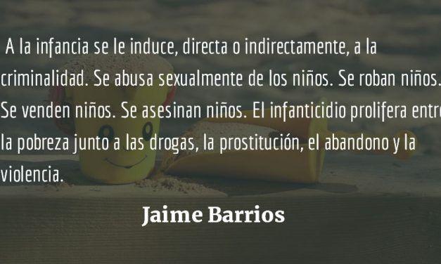 Atol con el dedo. Jaime Barrios.