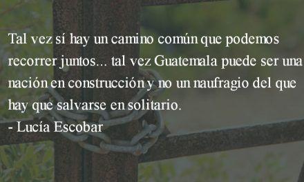 Nuevos tiempos. Lucía Escobar.