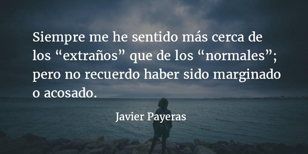 Los solitarios. Javier Payeras.