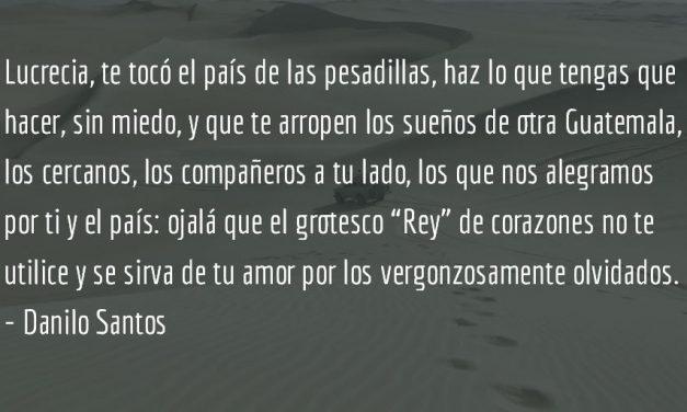 Carta a Lucrecia en el país de las pesadillas. Danilo Santos.