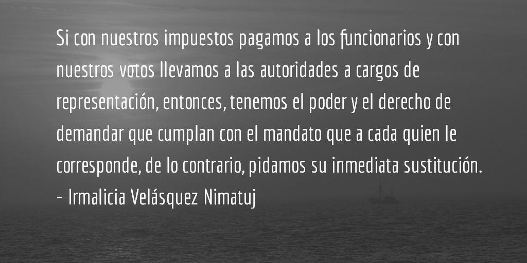 La destrucción de Quetzaltenango (IX y final). Irmalicia Velásquez Nimatuj.