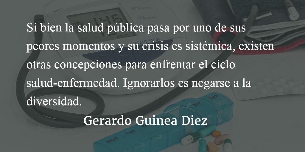 Un falso debate. Gerardo Guinea Diez.